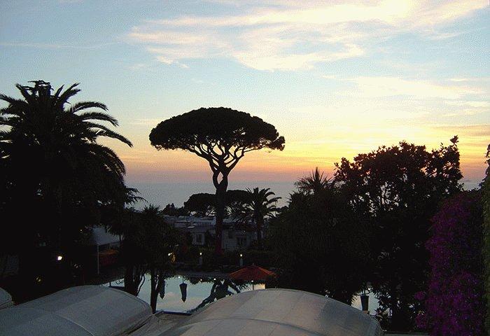 Capri Palace Dreams In Cream Perched In Anacapri