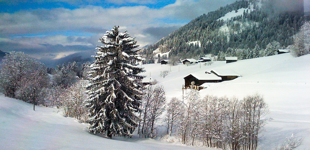 Stylish Skiing In Glittering Gstaad
