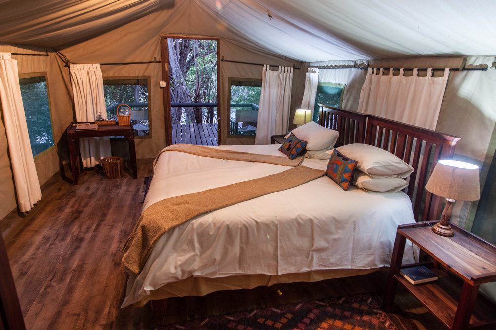 Ichobezi Safari Lodge Tented Room