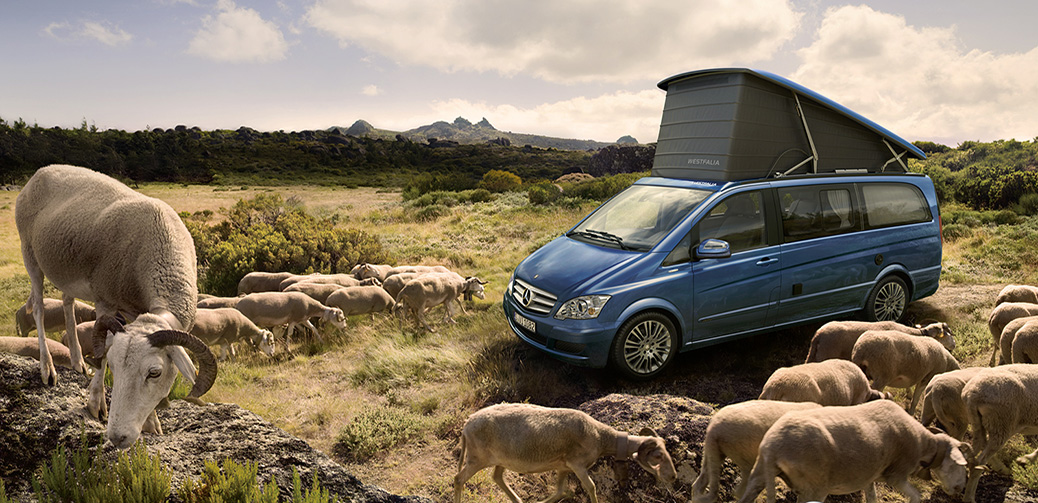 Forget Glamping, Try Mercedes-Benz Glampervaning!
