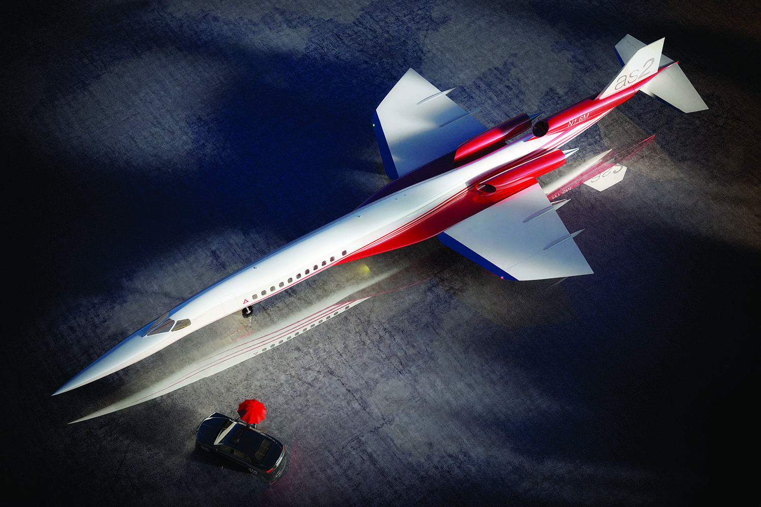 Fly Across The Atlantic By Supersonic Business Jet