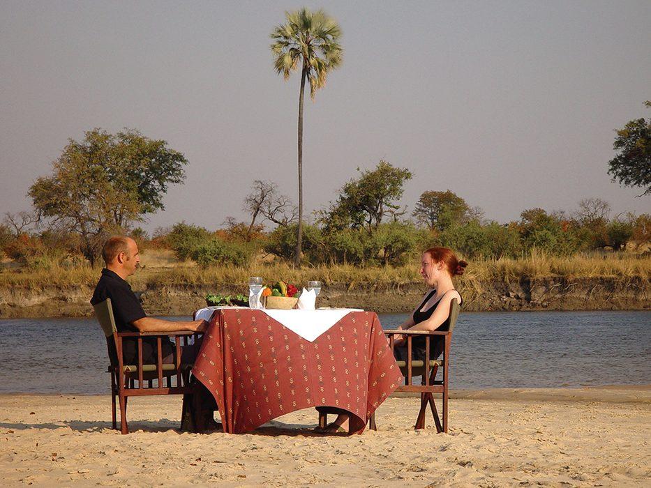 Tongabezi Safari Dining