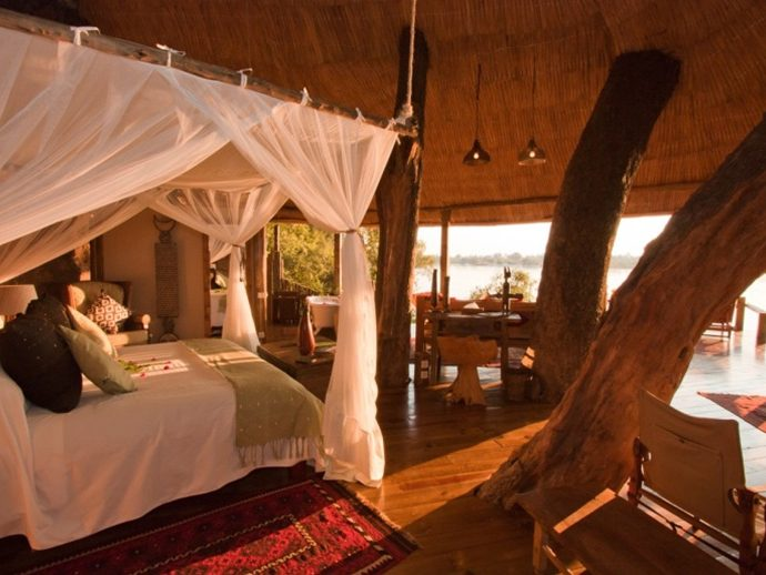 Tongabezi Safari Lodge Room