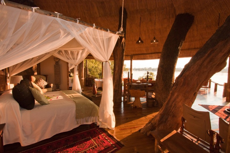Zambezi Hippos and Sunsets At Tongabezi Safari Lodge