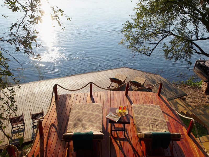 Tongabezi Safari Lodge Verandah Over The Zambezi