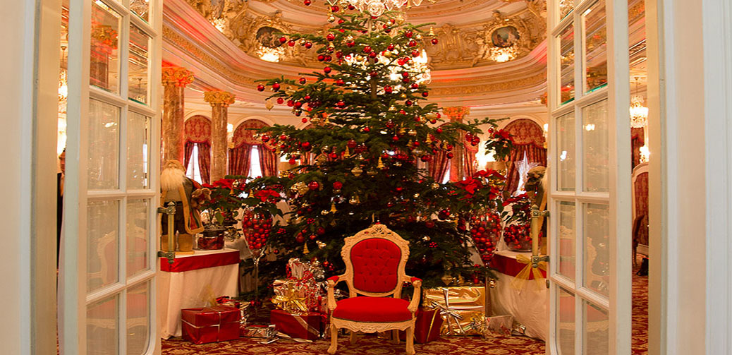Christmas Eve At The Hotel Hermitage Monte-Carlo