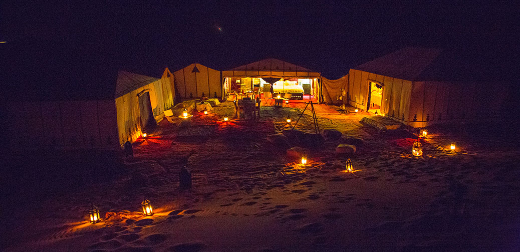 Desert Luxury Camp in Erg Chebbi, Morocco