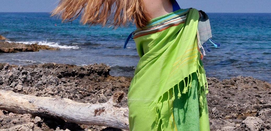 Blue Summer Boutique Kikoy Beach Towels