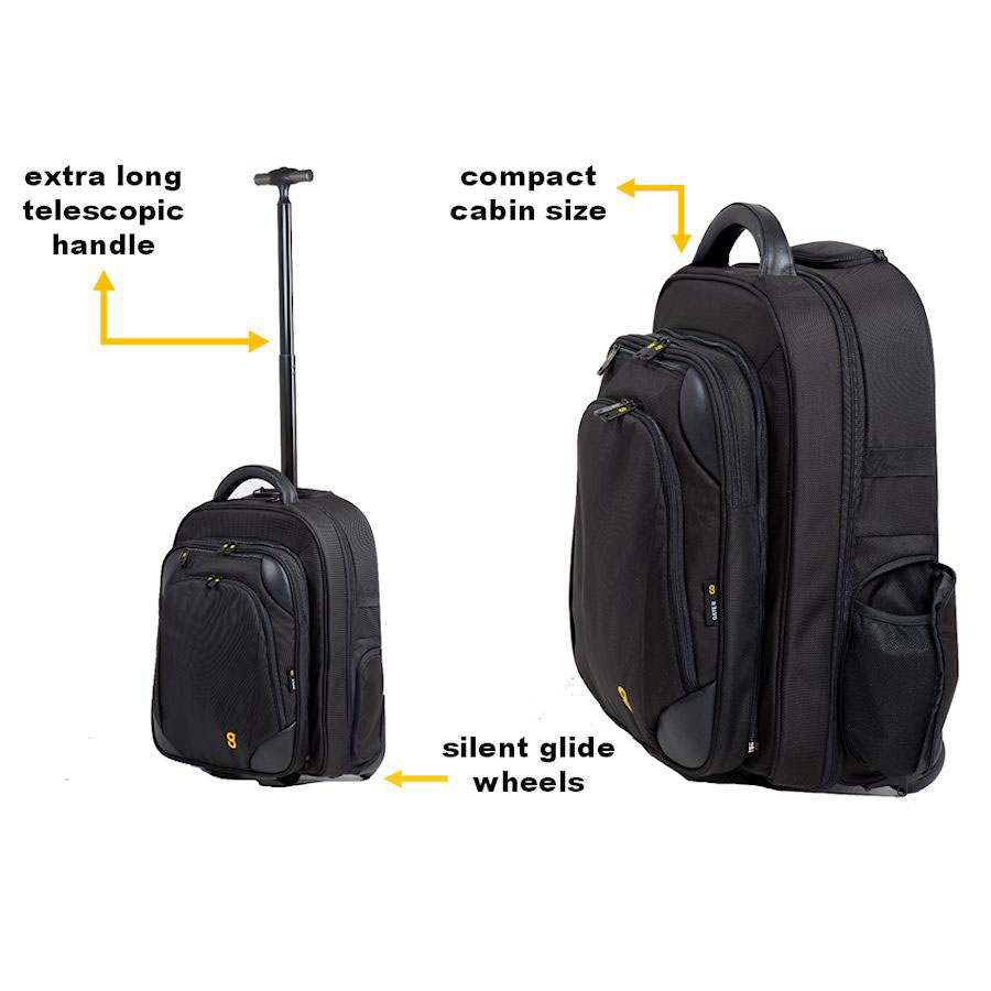 Gate8 cabin size bags accessories style luxury for Cabin bag size
