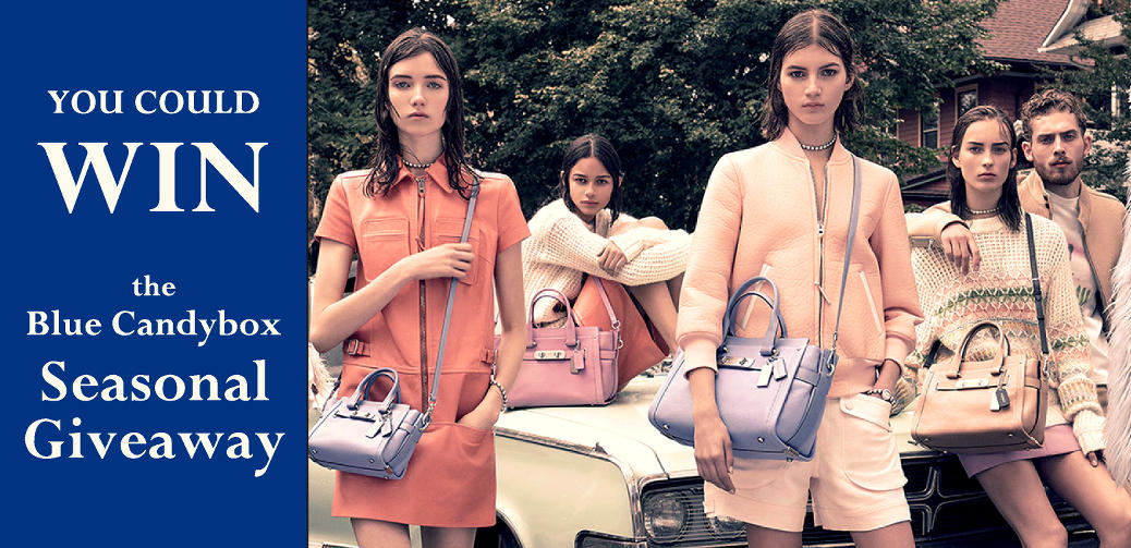 Win a Coach Bag with Blue Candybox