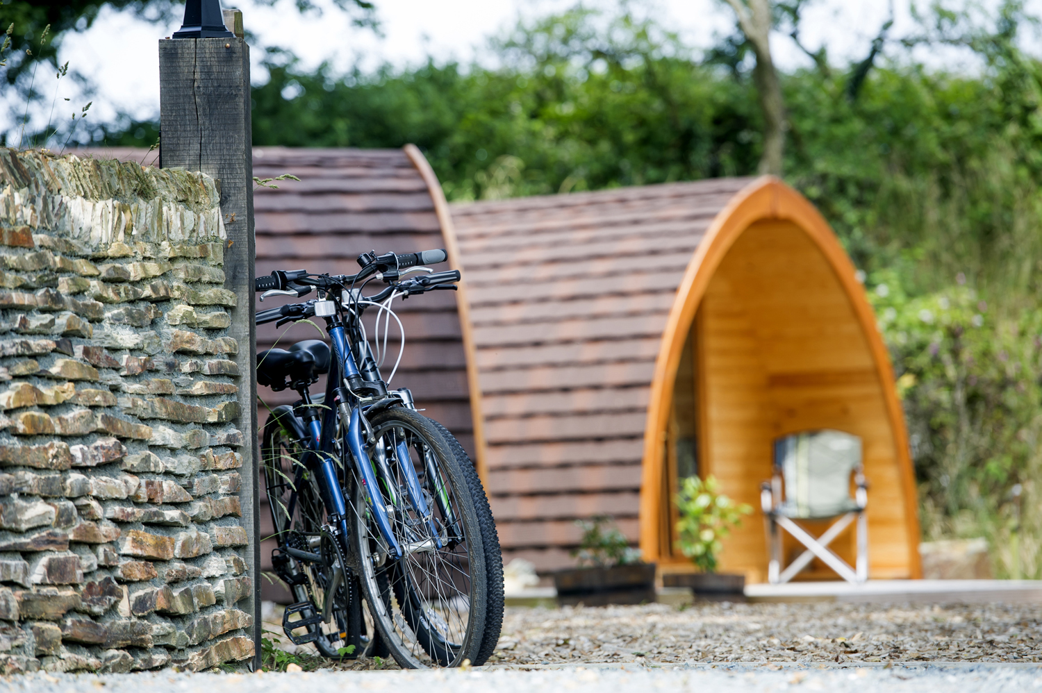 Luxury Quarry Pods at Dunsdon Farm, Devon