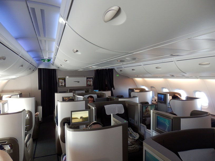 british airways airbus a380 club world review � airlines
