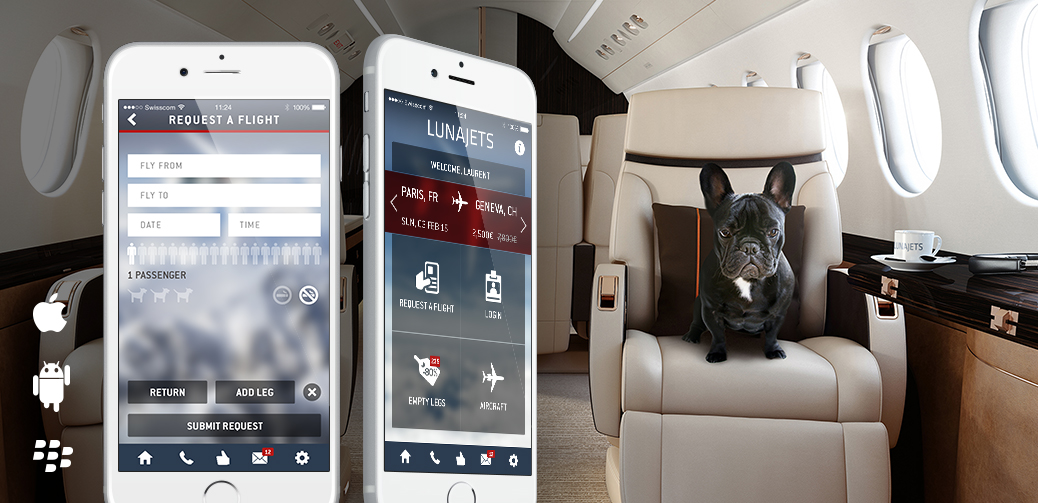 Book A Private Jet With Your Phone