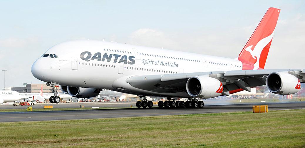 Business Traveller Win flights with Qantas