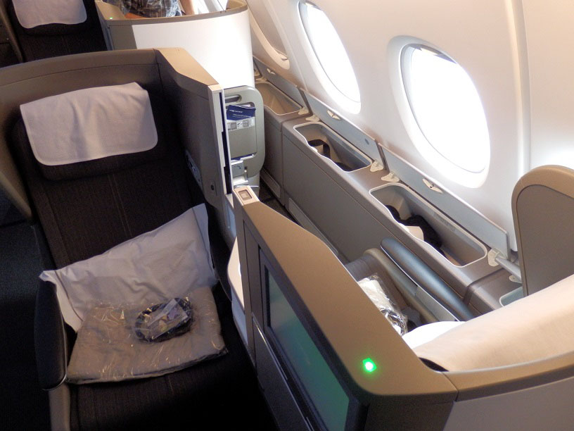 British Airways Airbus A380 Club World Review
