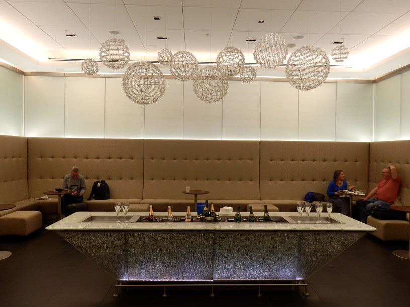 Review Of British Airways Galleries First Lounge Terminal 5