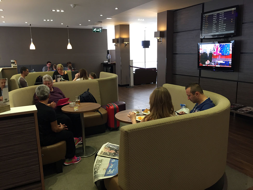 Aspire Airport Lounge Gatwick Review