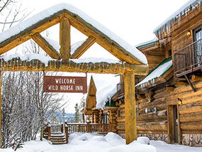 2 nights at the Wild Horse Inn in Fraser, Colorado