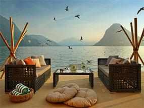2 nights at Grand Hotel Villa Castagnola, Switzerland