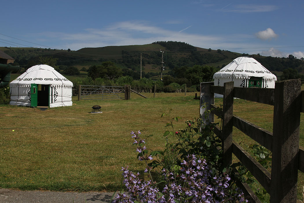 Barnutopia Luxury Yurts in the Welsh Borderlands