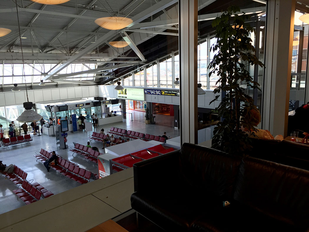 Priority Pass VIP Lounge Review, Nice Airport