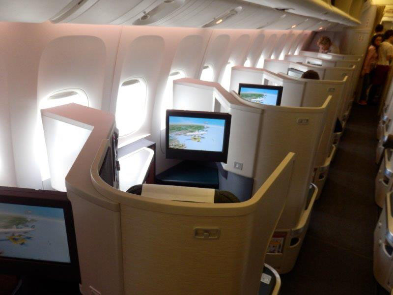 Cathay Pacific B777 Business Class Review Hong Kong To Beijing