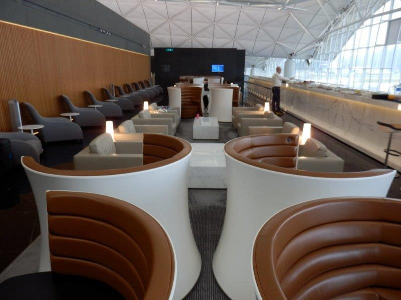 Cathay Pacific The Wing First Class Lounge Review, Hong Kong Airport