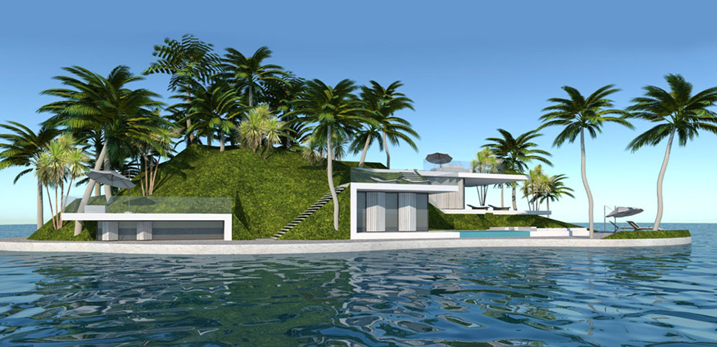 Buy Your Own Luxury Private Floating Island