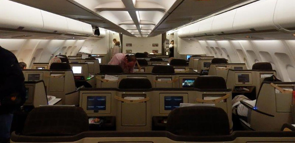 The Best Business Class Seats On Swiss Airbus A340-300