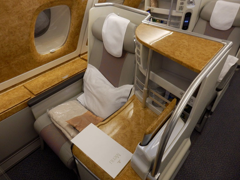 Best Business Class Seats On Emirates Airbus A380