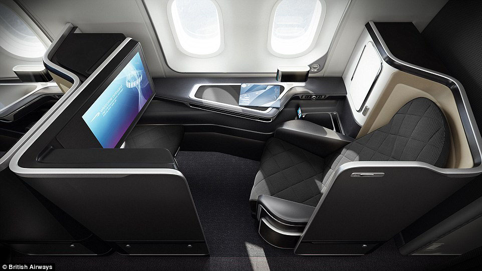Pictures Of British Airways' Boeing 787-9 Dreamliner First-Class Cabin