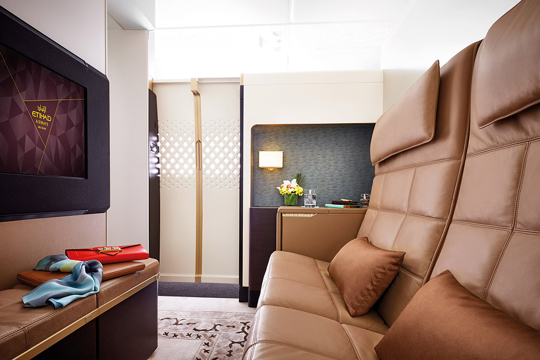 Pictures Of The Residence On Etihad Airways A380