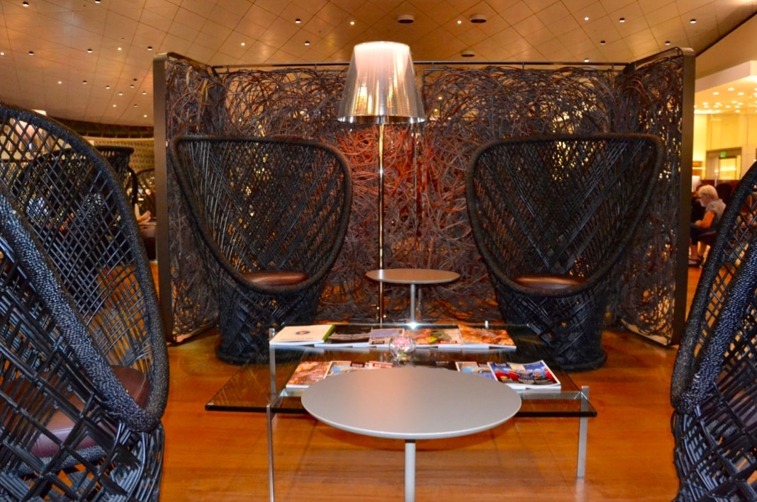 Qatar Airways Al Mourjan Lounge Review, Hamad Airport Doha