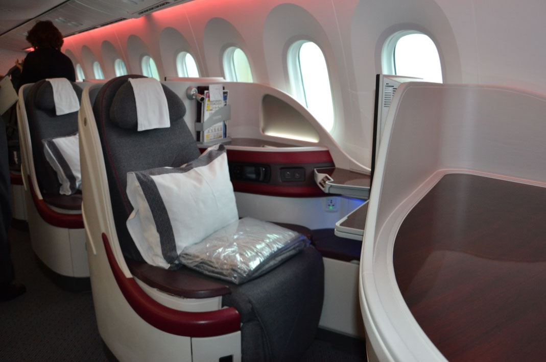 qatar airways  amsterdam  doha business class review airlines transport luxury