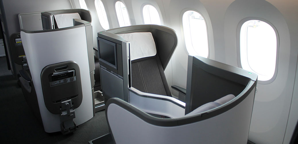 Best Business Class Seats On British Airways Boeing 787-9 Dreamliner