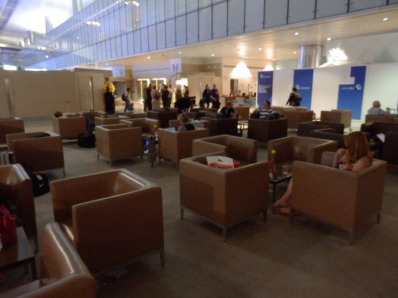 Pictures Of Emirates Business Class Lounge, Dubai Airport ...
