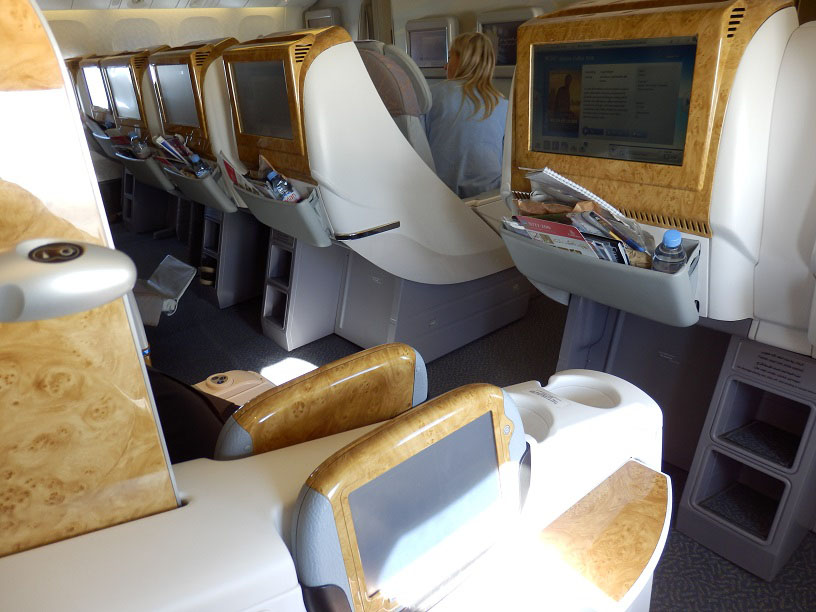 What are the best Business Class seats on Emirates' Boeing 777-200LR?