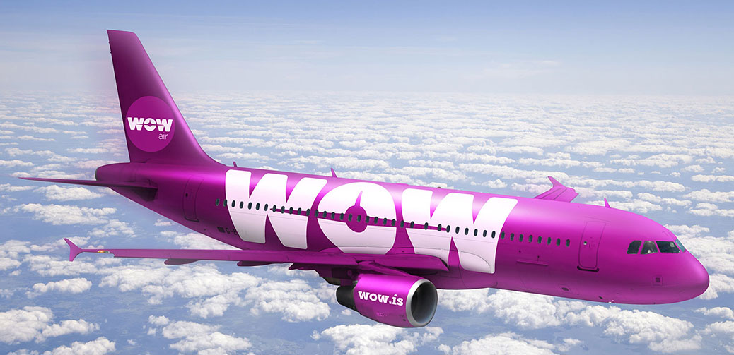 WOW Air Re-launches Cheap 99 Pound Transatlantic Fare
