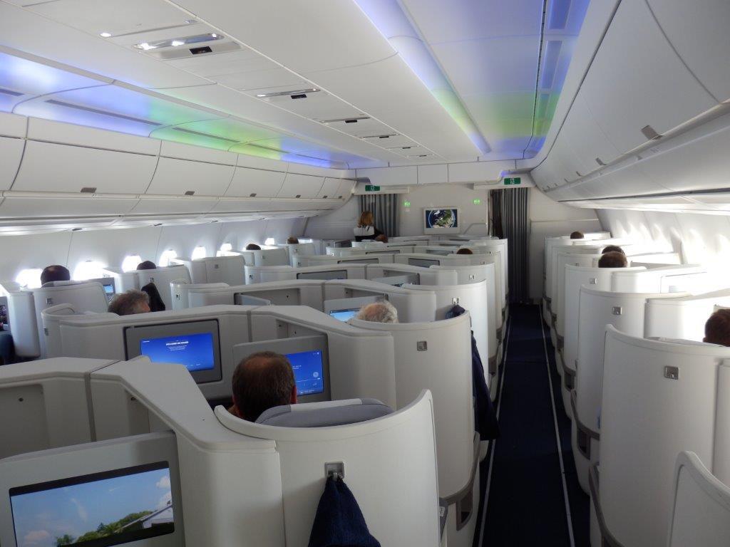 Finnair A350 Business Class Review, Brussels to Helsinki