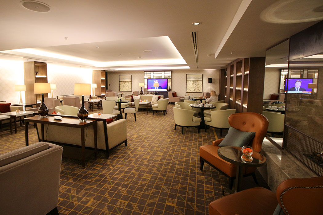 Hotel Lounge Review at JW Grosvenor House