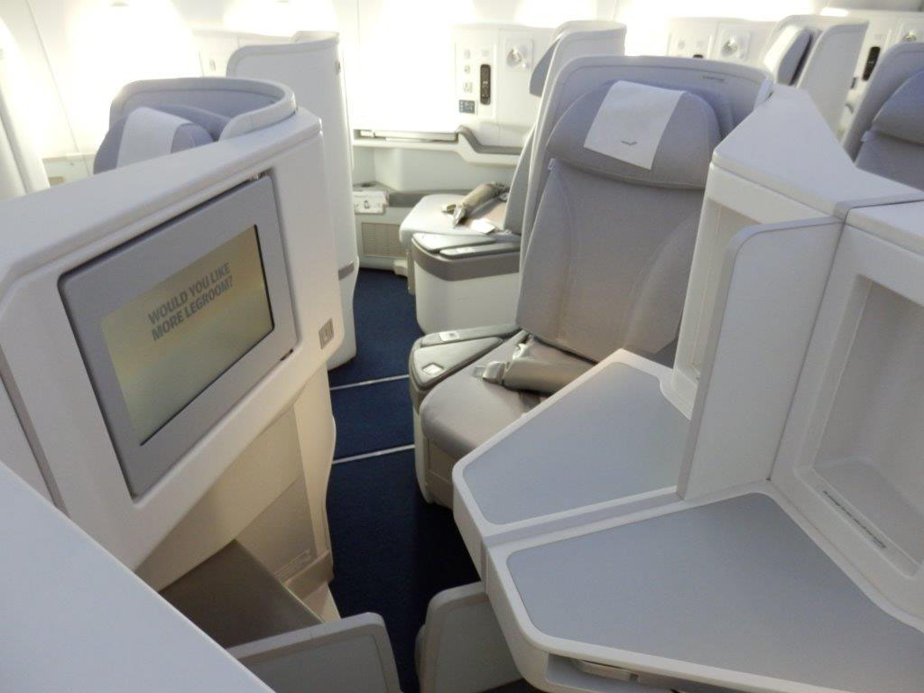 Finnair A350 Business Class Review, Brussels to Helsinki