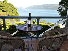 2 nights at Hide-Away Guest House in Knysna, South Africa