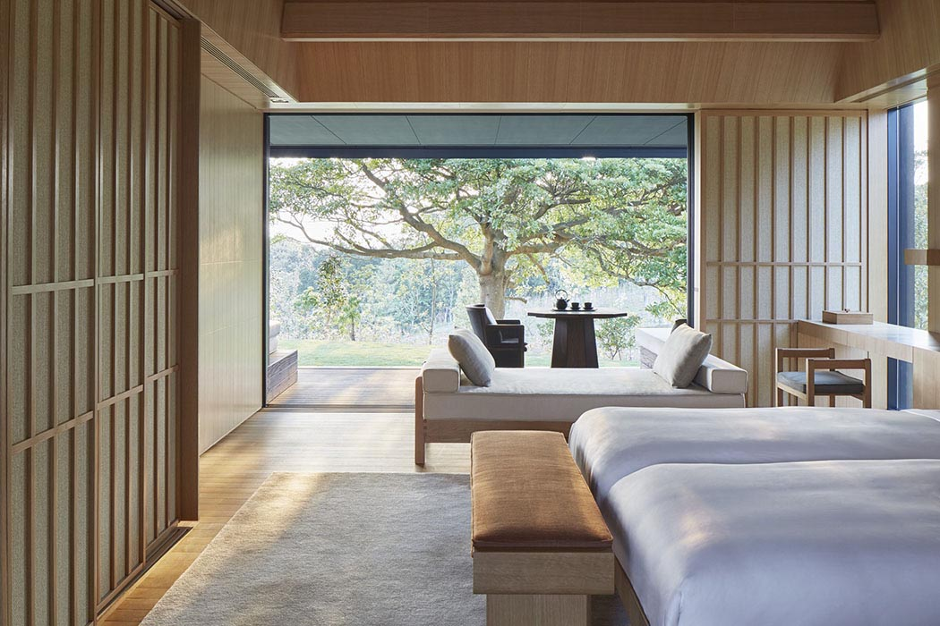 Amanemu review a hot spring resort in japan by aman for Architecture japonaise moderne