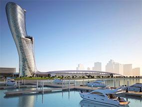 2 nights at the Grand Hyatt Abu Dhabi