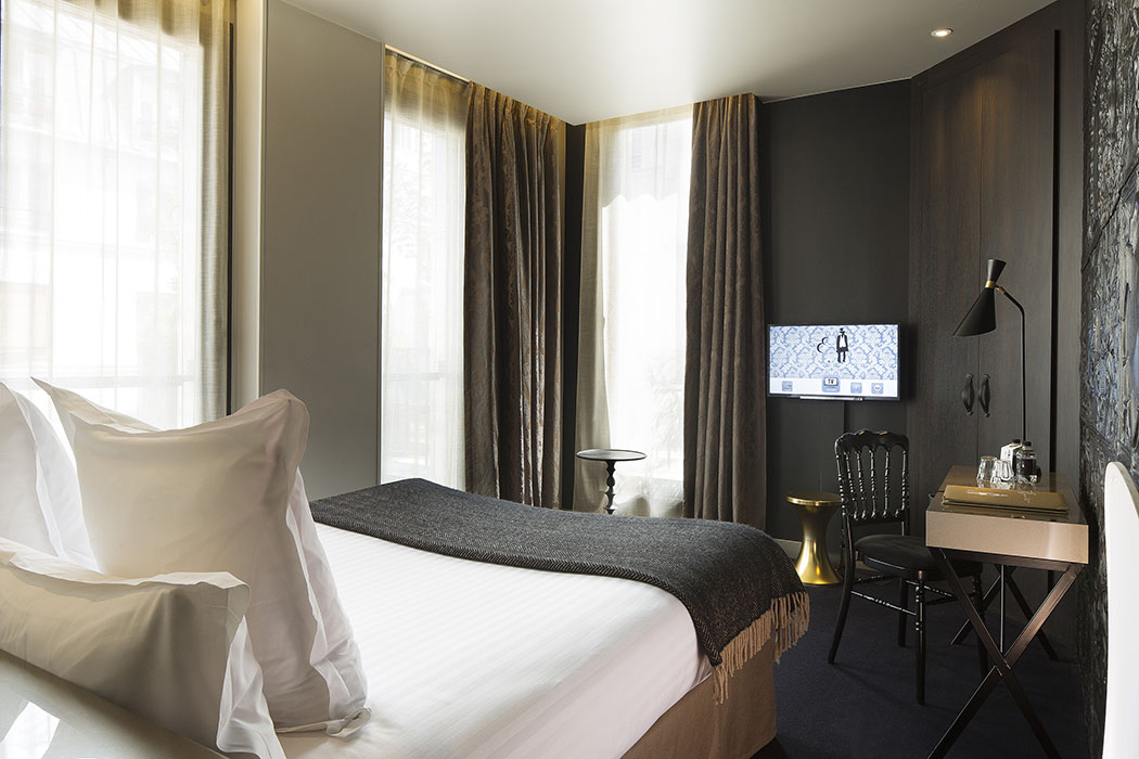 H tel eug ne boutique luxury in paris hotels for Luxury boutique accommodation