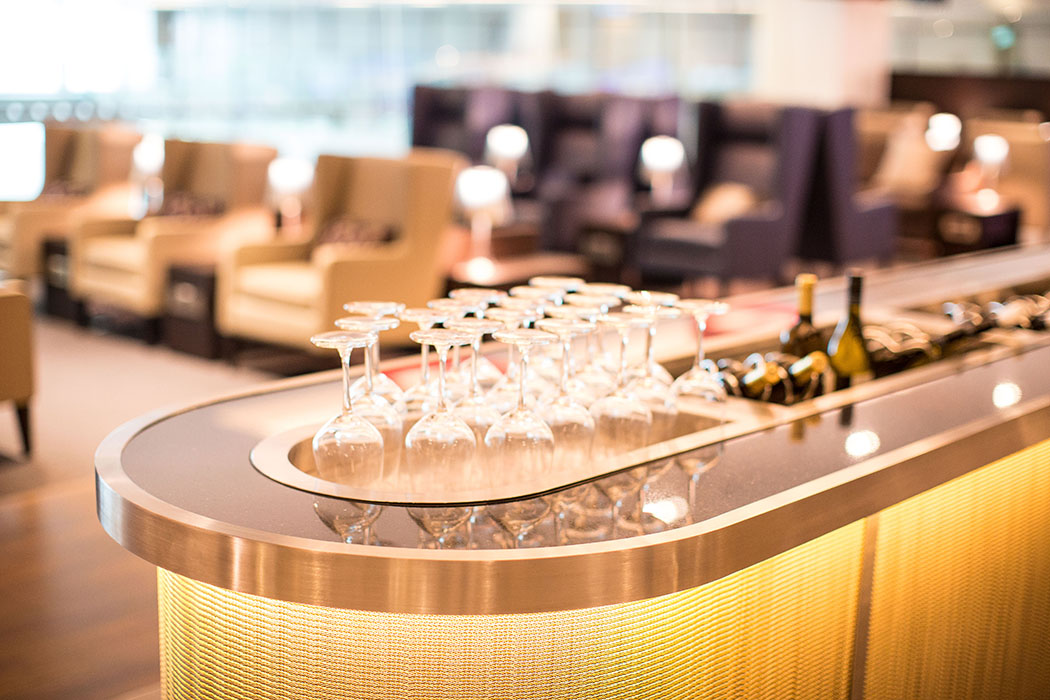 Review Of British Airways Singapore Concorde Bar & Lounge
