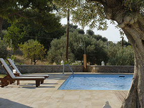 7 nights in a villa on the Greek island of Spetses