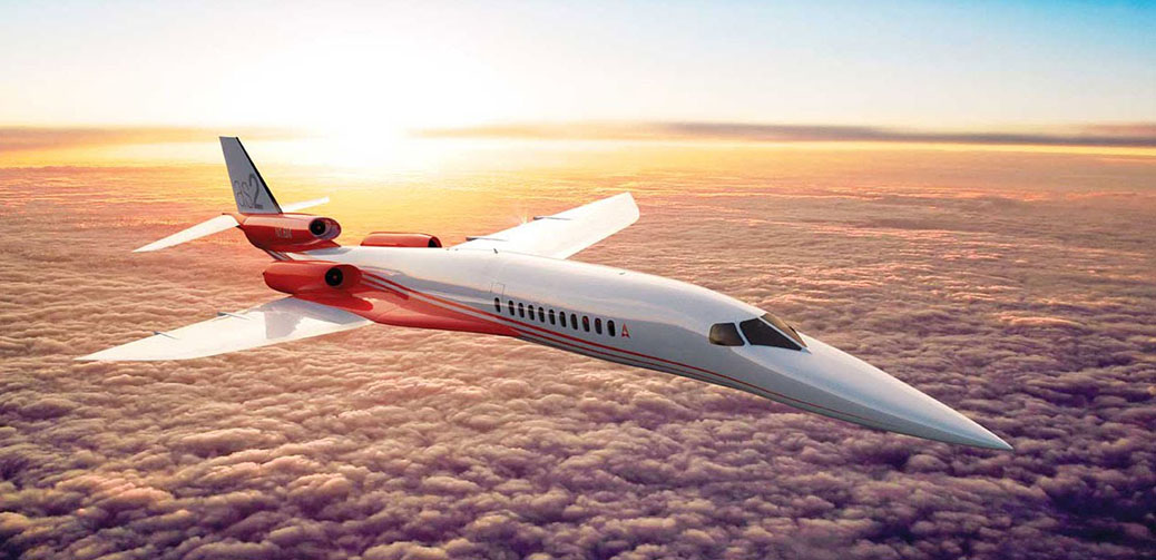 Aerion Supersonic Jet to fly NY to London in 4.5 hours