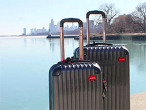 A Set Of ThermalStrike Heated Luggage Worth USD$499