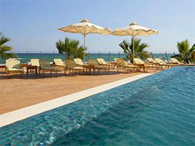 7 nights at Aquila Porto Rethymno Hotel in Crete, Greece